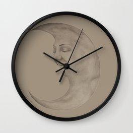 Moon Chick Wall Clock