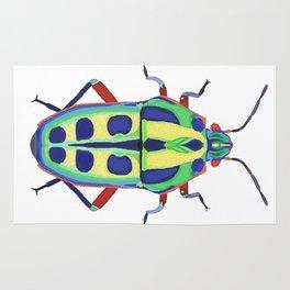 Colorful Beetle Bug #1 Rug