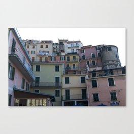 Italian Colorful Houses Canvas Print