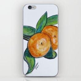 Two Oranges iPhone Skin