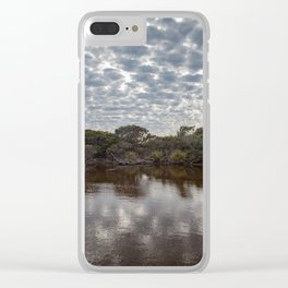 Brown Lake Clear iPhone Case