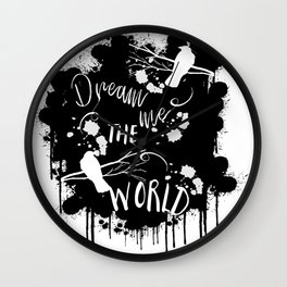 The Raven Cycle Wall Clock