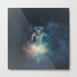 Into The Oort Cloud Metal Print
