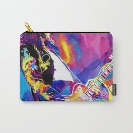 Watercolor my Jimmy Carry-All Pouch
