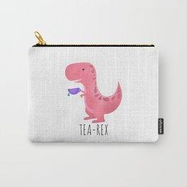 Tea-Rex | Pink Carry-All Pouch