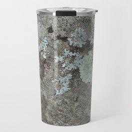 Lichen on granite Travel Mug