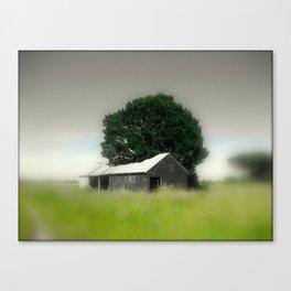 An Aussie Barn Canvas Print