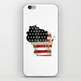 WISCONSIN FLAG iPhone Skin
