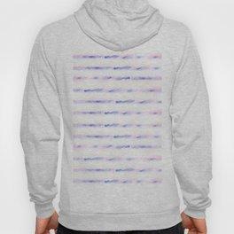 pastel lines on white Hoody