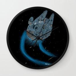 Smuggler Ship Wall Clock