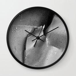9/11 Memorial Scrap Metal Wall Clock