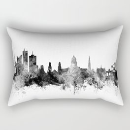 Brussels Belgium Skyline Rectangular Pillow