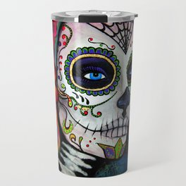 Sugar Skull Candy Travel Mug