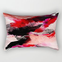 Day 63: Don't let aesthetics distract from true and invisible beauty. Rectangular Pillow