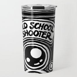 Analog Film Camera Medium Format Photography Shooter Travel Mug