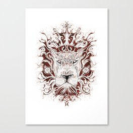 Spirit Lion Canvas Print