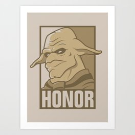For the Honor Art Print