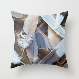 Feather Collection Throw Pillow