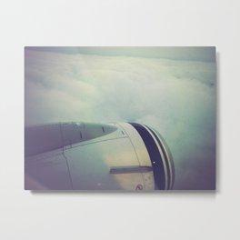 The Flight Metal Print