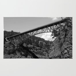 Deception Pass, the Bridge to Whidbey Island Rug