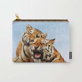 TIGERS - DOUBLE TROUBLE Carry-All Pouch