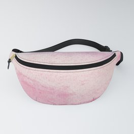 pastel city (watercolor painting) Fanny Pack