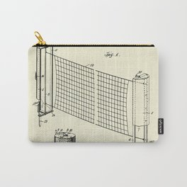 Combined case and post for lawn-tennis nets-1908 Carry-All Pouch