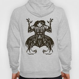 Shamanic travel (shaman walk) Hoody