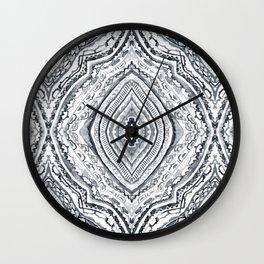 Black & White Diamond Wall Clock