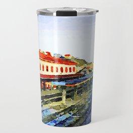 Catanzaro: railway station Travel Mug