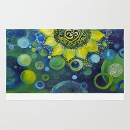 canvas print Rug