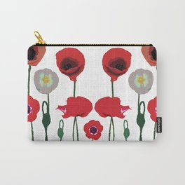 Poppies Pop Carry-All Pouch