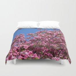 Spring blossoms pink Duvet Cover