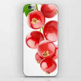Red currants iPhone Skin