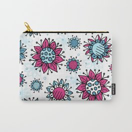 Weird and Wonderful (Flowers) Carry-All Pouch