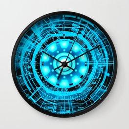 Arc Reactor Wall Clock