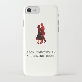 We're doomed, my dear. iPhone Case