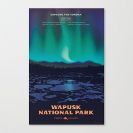 Wapusk National Park Poster Canvas Print