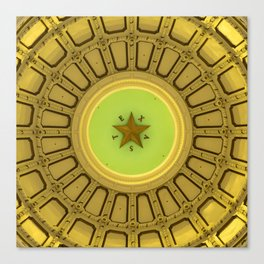 Dome of the Texas State Capitol - Austin Canvas Print