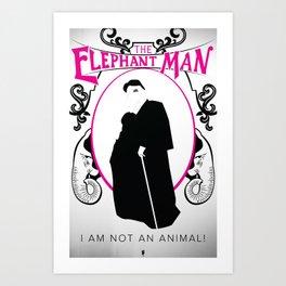 I Am Not An Animal Art Print