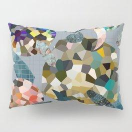 Gemstone Space Moon Pillow Sham