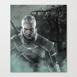 Geralt of Rivia - The Witcher 3 Canvas Print