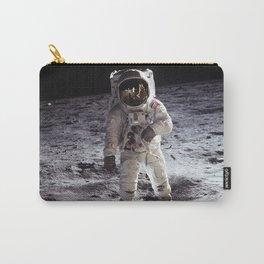 Apollo 11 - Buzz Aldrin On The Moon Carry-All Pouch
