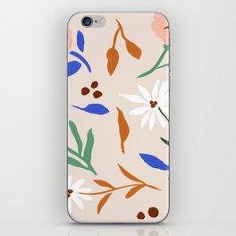 Tulum Floral iPhone Skin