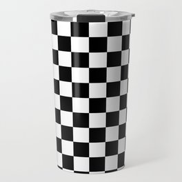 Checkered Flag Travel Mug