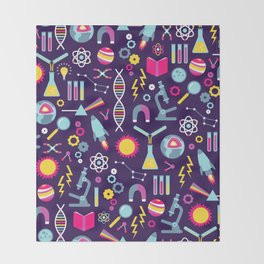 Science Studies Throw Blanket