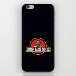 Jurassic Parks And Rec iPhone Skin