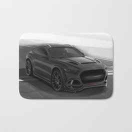 Ford Mustang SUV by Artrace Bath Mat