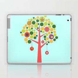 Christmas tree illustration Laptop & iPad Skin