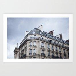 Paris Rooftop Art Print